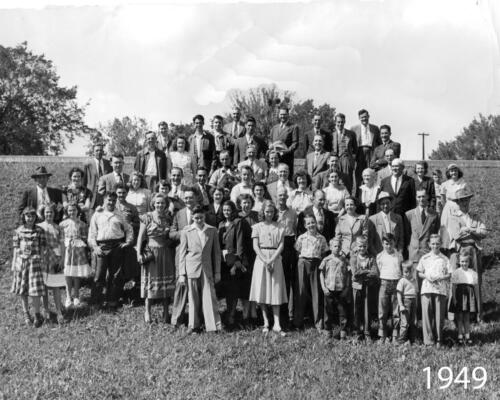1949 Fort Smith Amateur Radio Operators, wives and children