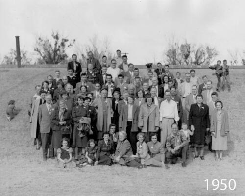 1950 Fort Smith Amateur Radio Operators, wives and children
